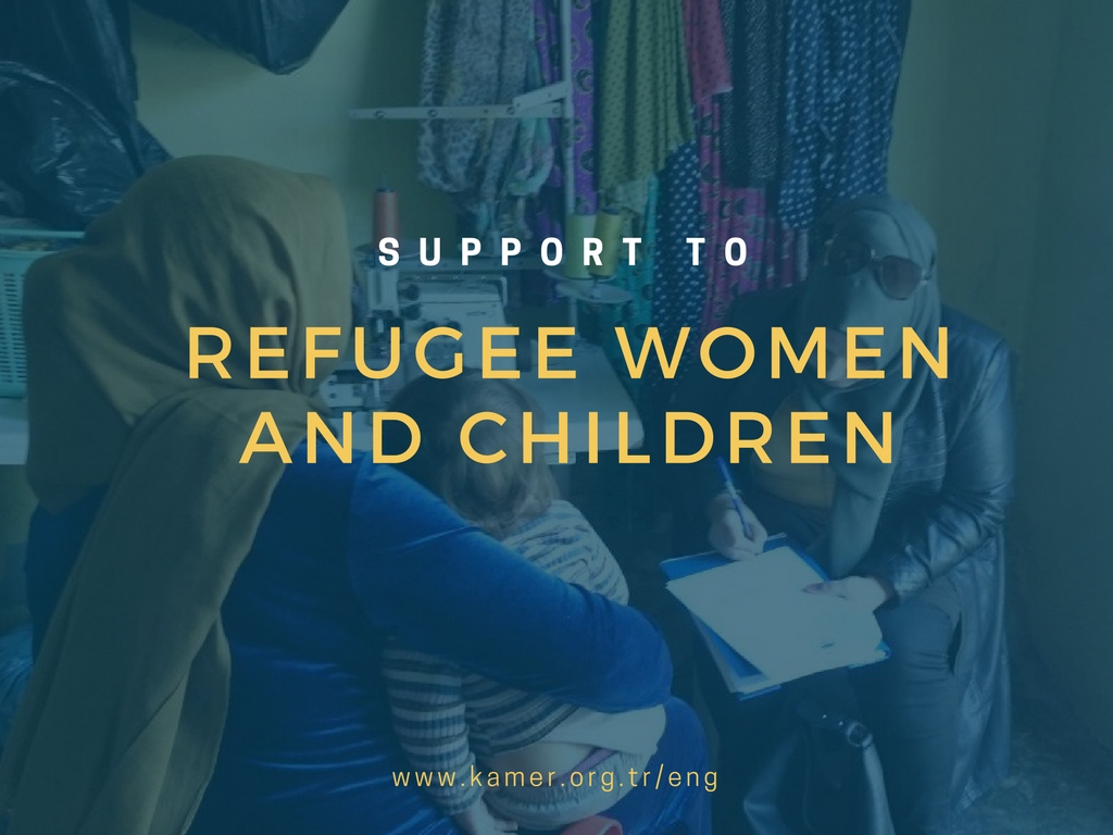 Support to Refugee Women and Children